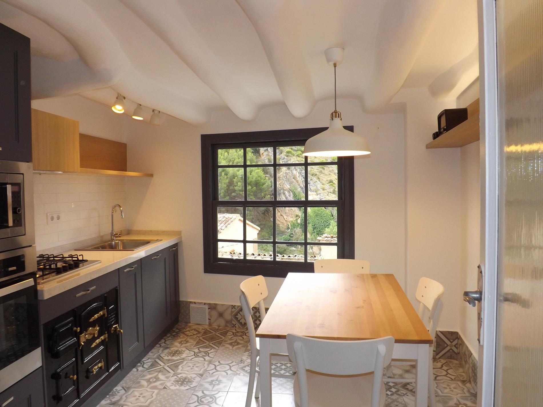 Cocina: Instalación y Mobiliario